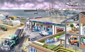 Ilustración petroleo
